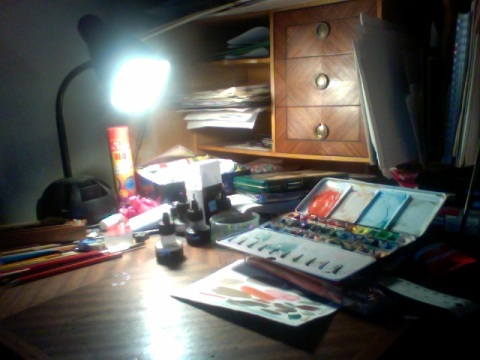 My Good Old Desk