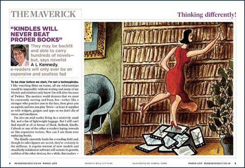 Reader's Digest UK spread